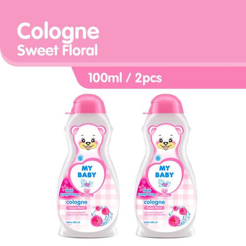 Foto Produk MY BABY Cologne Sweet Floral [100mL/2pcs] - Minyak Wangi Bayi dari Tempo Store Official