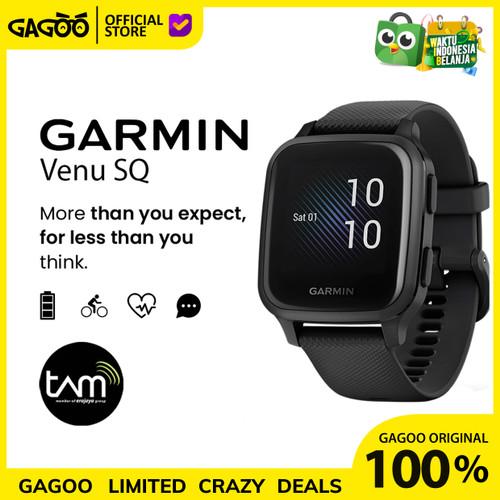 Foto Produk Garmin Venu SQ / Venu Square [ORIGINAL] Smartwatch Garansi Resmi TAM - White dari Gagoo Official Store