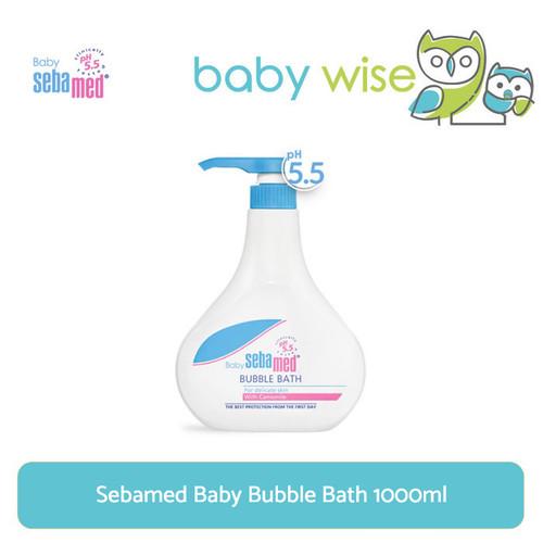 Foto Produk Sebamed Baby Bubble Bath 1000ml dari Baby Wise
