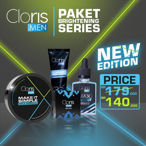 Foto Produk CLORIS MEN PAKET BRIGHTENING SERIES PERAWATAN WAJAH PRIA - Paket Brighteni dari clorismen_jakarta