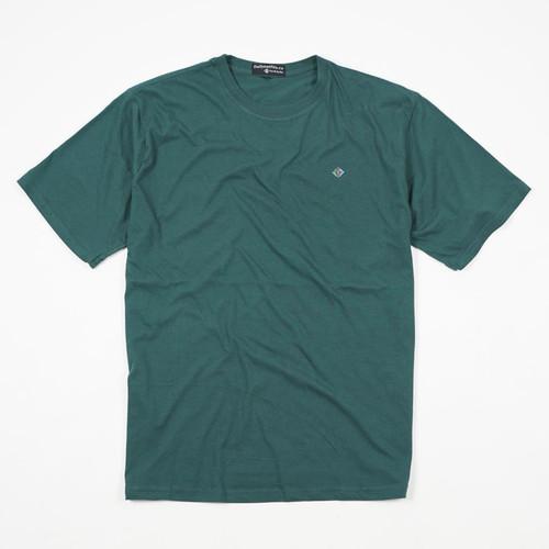 Foto Produk Dailyoutfits Kaos Polos Premium T-shirt Green Katun Combed 30S Unisex - L dari Daily Outfits DYO
