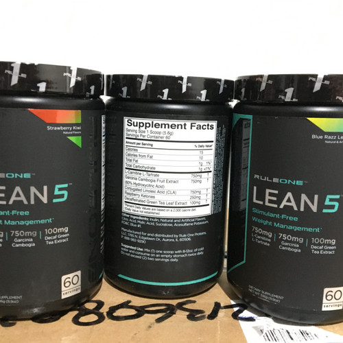 Foto Produk rule 1 lean 5 60 servings fatburn dari xieanz supplement