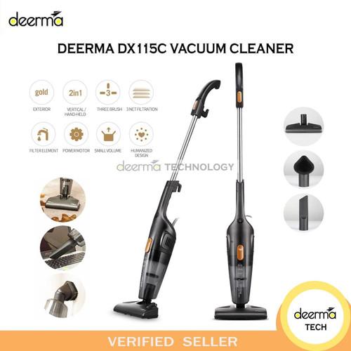 Foto Produk DEERMA DX115C PORTABLE 2IN1 SILENT VACUUM CLEANER PENYEDOT DEBU RUMAH dari DEERMA TECHNOLOGY