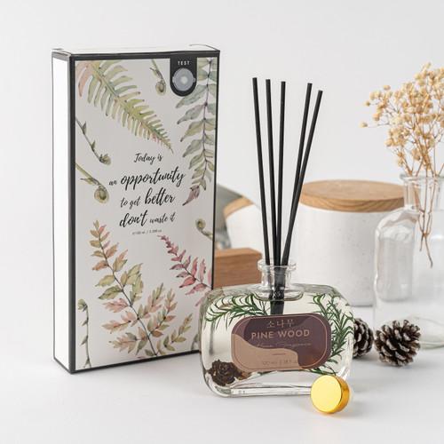 Foto Produk Reed Diffuser Aromatherapy w/ Stuff Dry Fruit Inside Pengharum Ruangan - PINE WOOD dari Arami Lifestyle