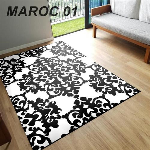 Foto Produk [Martha Karpet] Karpet MAROC 160x210 Monokrom - BW01 dari Martha Karpet Indonesia