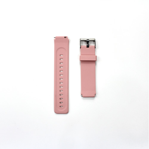 Foto Produk 19mm Silicon Strap for Haylou LS01 Smartwatch - PINK dari Haylou official store