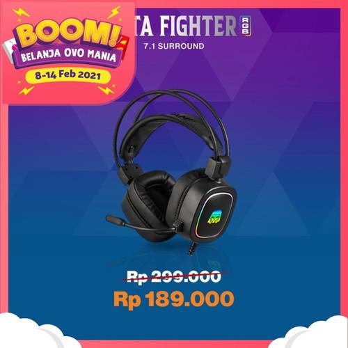 Foto Produk Digital Alliance Delta Fighter RGB-Headset Gaming dari Digital Alliance