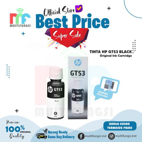 Foto Produk TINTA HP GT 53 BLACK - 100% ORIGINAL GT53 dari Multifungsi Online