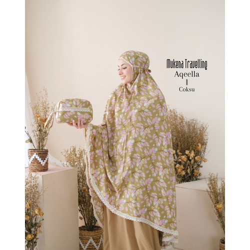 Foto Produk MUKENA DEWASA RAYON AQEELLA COKSU dari Pusat Mukena Indonesia