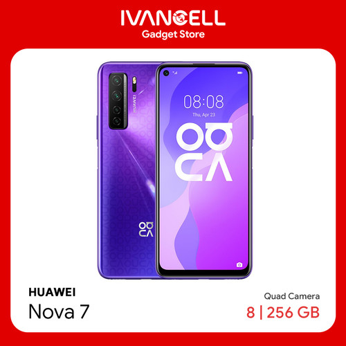 Foto Produk Huawei Nova 7 8GB / 256GB - Ungu dari IvancellMalang
