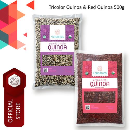 Foto Produk Tricolor Quinoa & Red Quinoa Organic El Organico 500gr (Mix Pack) dari ELorganico