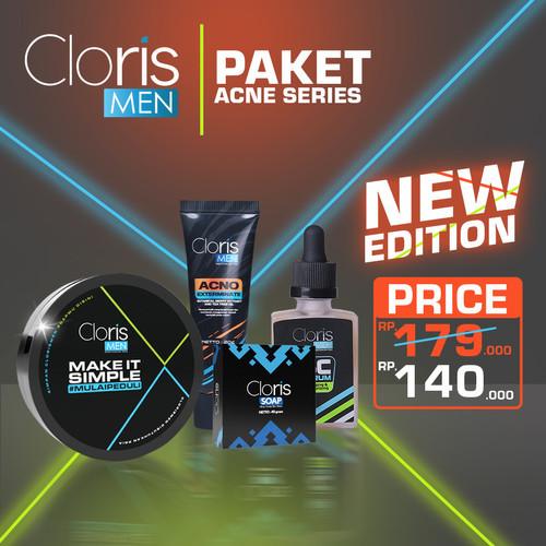 Foto Produk cloris men paket acne series clorismen acno - Acno Exterminat dari clorismen_jakarta
