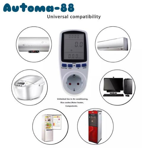 Foto Produk Stop Kontak Watt meter dari Automa-88