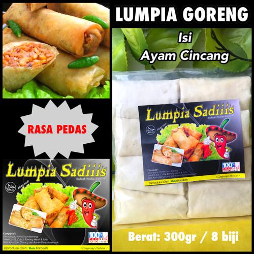 Jual Lumpia Goreng Pedas Isi 8 Kota Tangerang Selatan Gadsa Online Shop Tokopedia