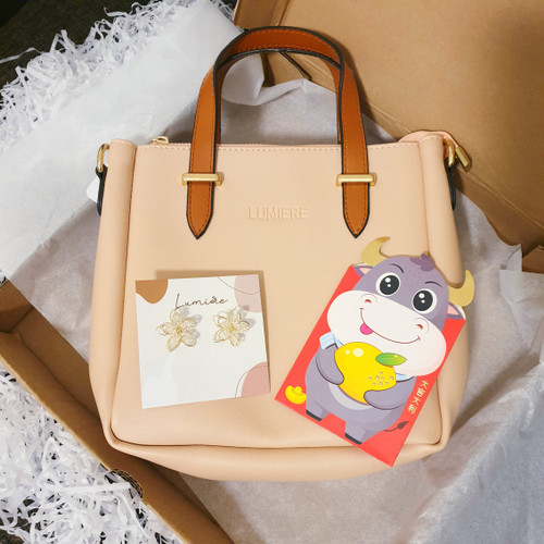 Foto Produk CNY Hampers Bag & Earrings (by Lumiere Bag) - Jane Bag, Bloom Earrings dari Lumiere Bag