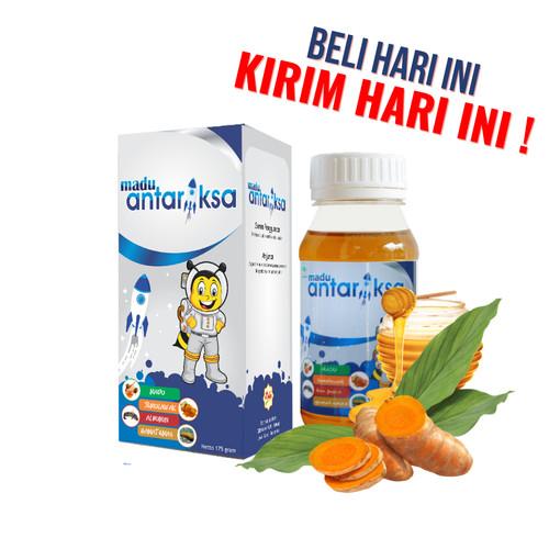 Foto Produk Obat Herbal untuk Pneumonia pada Anak - Madu Antariksa dari kawansehat
