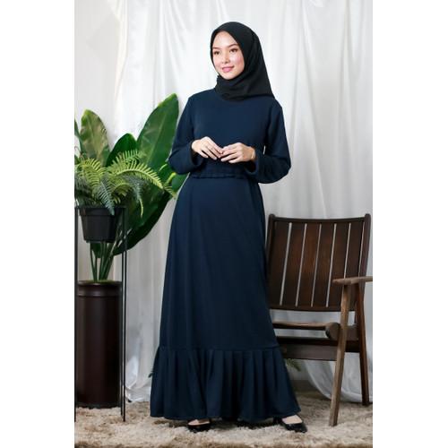 Foto Produk Mybamus Berly Plit Dress Navy M14552 R4S2 dari Mybamus Official