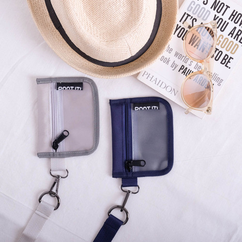 Foto Produk Hanging Wallet NEW SAKO CLEO by POOT IT - Biru Navy dari POOT IT Official