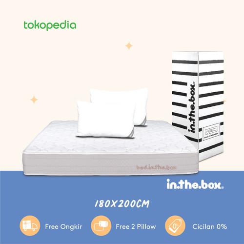 Foto Produk Spring bed inthebox Ukuran 180x200 (King) dari INTHEBOX Official Store