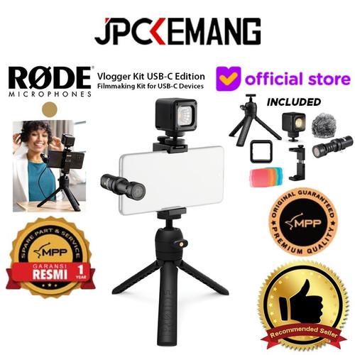 Foto Produk Rode Vlogger Kit USB-C Edition Filmmaking Kit for Smartphone Type C dari JPCKemang