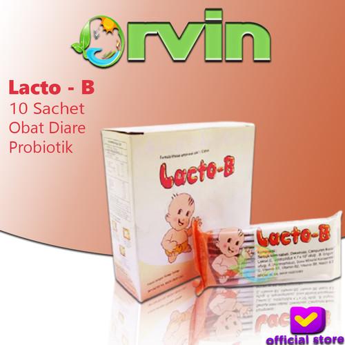 Foto Produk Lacto-B - Probiotik / Bundling 10 sachet / Untuk Diare / obat BAB dari Orvin Health & Beauty