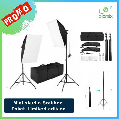 Foto Produk Mini studio Softbox - Paket Limited edition dari pixmix