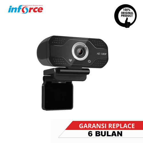 Foto Produk WEBCAM INFORCE 1080P WEB CAM BUILT IN MIC FULL HD dari INFORCE INDONESIA