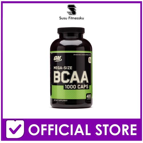 Foto Produk ON Bcaa 1000mg 400 Capsules Optimum Nutrition Bcaa 1000mg dari Susu fitnessku
