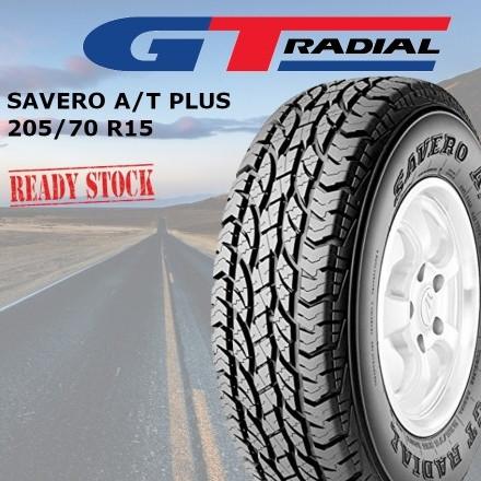 Foto Produk Ban GT Radial SAVERO AT PLUS 205/70R15 TUBELESS 205 / 70 R15 dari SuperWheel