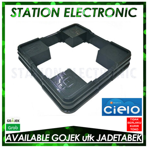 Foto Produk BERVIN CFSA-150 Dudukan Mesin Cuci Front Load & Showcase (Dark Grey) dari station electronic