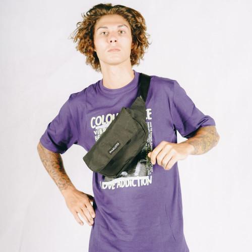 Foto Produk HARLOTH Cosmic Black Tas Waist bag / Sling Bag / Tas Selempang dari HARLOTH OFFICIAL