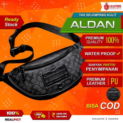 Foto Produk Tas Selempang Kulit Pria Tas Kulit Pria Tas Pria Waist Bag ALDAN dari Leather Concept