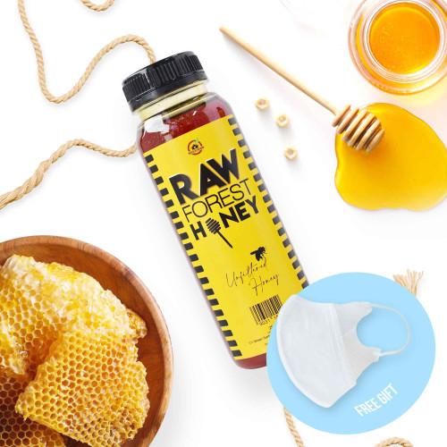 Foto Produk House Of Organix Raw Forest Honey 250 Ml dari House Of Organix