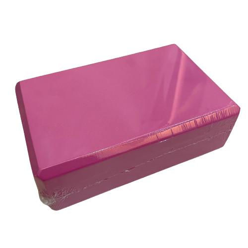Foto Produk Balok Yoga/ Yoga Brick/ Yoga Balok/ Batok Yoga/ Yoga Block Pilates EVA - Merah Muda dari CV. Sinar Indah