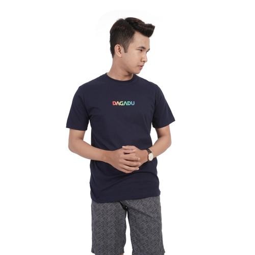 Foto Produk Dagadu Aseli Official - KLPD Dagadu Rainbow - S, Putih dari Dagadu Official Shop
