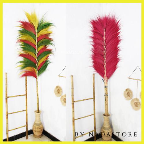 Foto Produk dried flower / Daun Rayung Stick 170 cm Murah dari Dhila_fashion