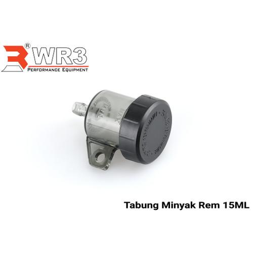 Foto Produk Tabung Minyak Rem WR3 Original Ukuran Kecil Small Smoke Universal - Lurus dari Xtreme Motor Sport