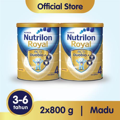 Foto Produk Paket 2 - Nutrilon Royal 4 Susu Pertumbuhan 3-6 Thn Madu 800gr dari Nutrilon Shop
