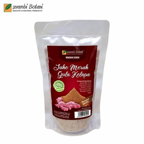 Foto Produk Jahe Merah Gula Aren Murni Tanpa Gula Pasir Healthy & Natural Products dari Serambi Botani Official