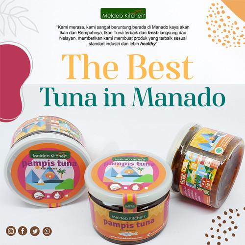 Foto Produk Pampis Ikan Tuna Meldeb Kitchen 150g Asli Manado Premium Homemade - Pedas dari MeldebKitchen