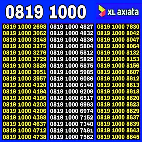 Foto Produk Nomor Cantik XL PANCA 77777 dari JNA cell