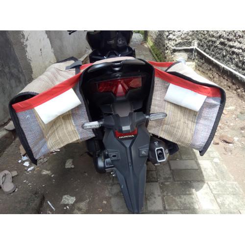 Foto Produk BRONJONG MOTOR, TAS KANDEK, TAS KURIR, TAS POS, TAS OBROK, SIZE JUMBO - 50x35x40 dari PatihAllshop