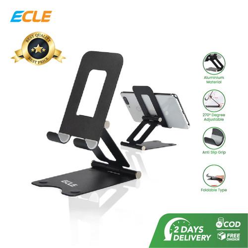 Foto Produk ECLE Phone Holder Tablet iPad iPhone Android Alluminium Anti Slip dari ECLE Official Store
