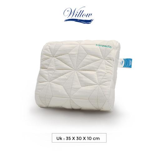 Foto Produk Bantal Pinggang Ergonomic Latex/Willow Pillow Ergo Back Cushion Latex dari Willow Pillow
