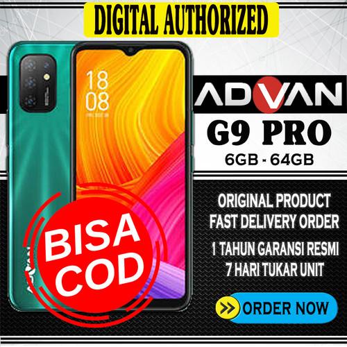 Foto Produk Advan G9 Pro 6GB 64GB Quad Camera Octacore Android 10 - Hijau dari Digital Authorized