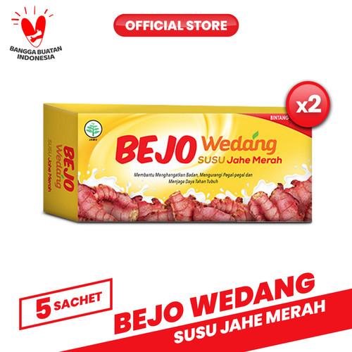 Foto Produk Bejo Susu Jahe Merah (SUJAMER) 2 Pack ( 10 Sachet ) dari Bintang Toedjoe Official