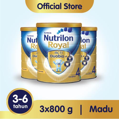 Foto Produk Paket 3 - Nutrilon Royal 4 Susu Pertumbuhan 3-6 Thn Madu 800gr dari Nutrilon Shop