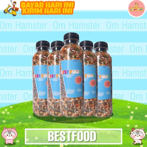Foto Produk Makanan Hamster Racikan Lengkap - Praktis 225gr dari Om Hamster
