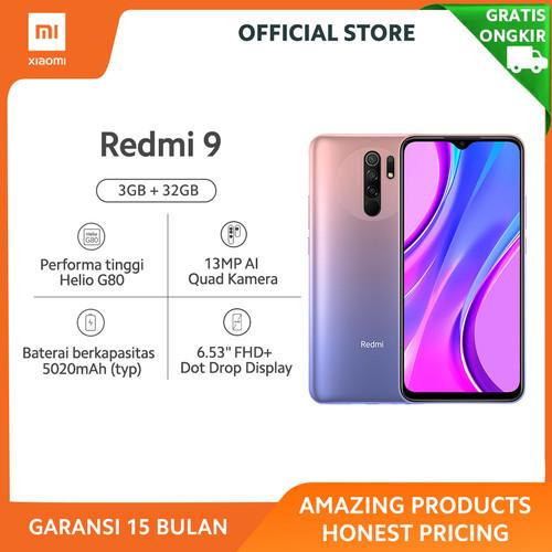 Foto Produk Xiaomi Official Redmi 9 3/32 GB Garansi Resmi Mi Smartphone - Lunar Gold dari Xiaomi Official Store