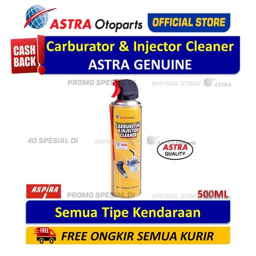 Foto Produk Carburator & Injector Cleaner 500 ml ASPIRA untuk SEMUA MOTOR dari Astra Otoparts